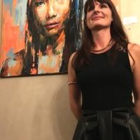 Gillian Warzée la reine de l'art du portrait
