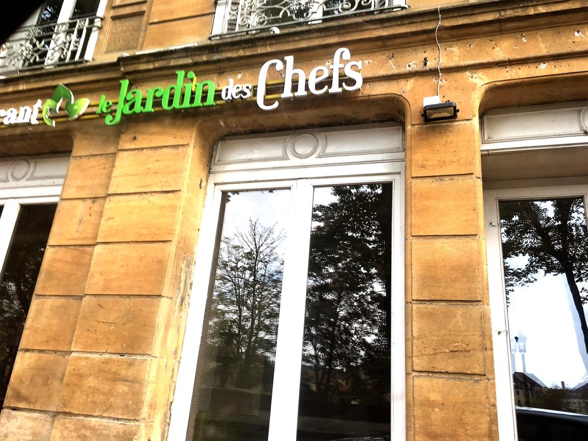Le Jardin des Chefs à Metz :  plus qu'un restaurant, un Must