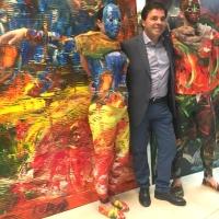 L'artiste Claudio Rosati rend un vibrant hommage à Leonardo Da Vinci